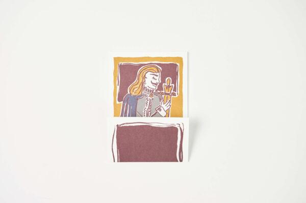 Postkarte Hamlet 1