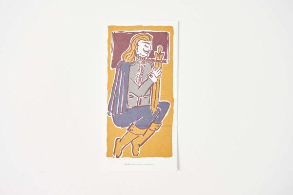 Postkarte Hamlet 2
